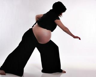 Practicando Tai chi durante el embarazo